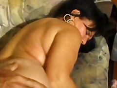 Hairy old whore ass fucked