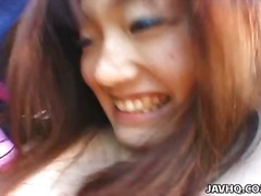 Over Thumbs Movie:Shy japanese coed exhibs and f...