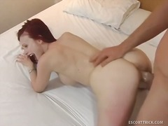 WinPorn Movie:Redheaded escort agrees to fuc...