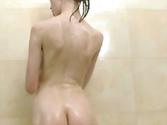 shower, posing, masturbation,