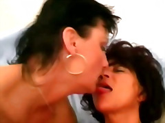 Wild mature lesbians toy fucked