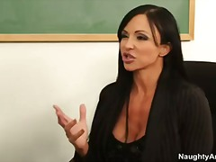 Big tit college profes... video