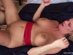 Blond escort zoe holiday gives crazy ...