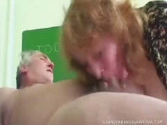 Strict teacher sofya canes her mature student on his bottom