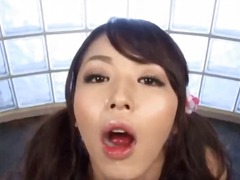 gangbang, blowjob, cum, swallow, asian