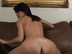 creampies, interracia, brunette, blowjob