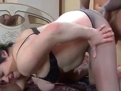 See: Horny mature slut with...