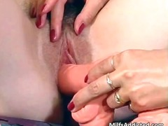 Hot milf slut plays wi... video