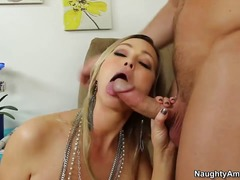 abbey brooks,  blonde, deepthroat