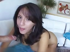facial, gagging, cougar, pov, cumshot,
