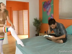 reality, babe, footjob, teen, feet