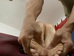 Jade nacole gets her feet worshipped ...