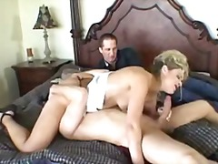 Thumb: Blonde wife sucking of...