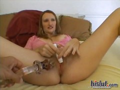 See: Heather gets an orgasm