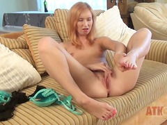 Young blonde nikky loves to wear