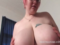masturbation, tits, granny, mom, hardcore, older, bbw, milf, mature
