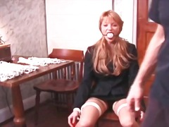 foot fetish, bdsm, redhead, nylon,