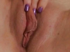 Horny blonde beauty sh... preview