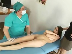 Tube8 Movie:Embarassing gyno exam for cute...