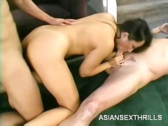 WinPorn - Asian asami gets plugged