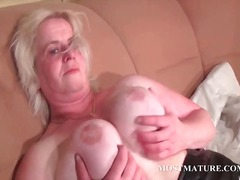masturbation, older, mature, granny,