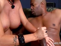 ebony, mom, black, interracial,