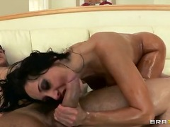 big ass, milf, babe, oil, facial,