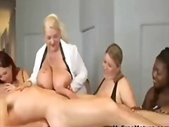 Plump relax mature mat...