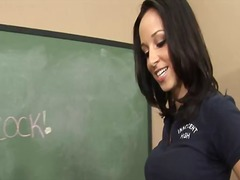 Brunette schoolgirl ja... preview