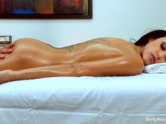 Stunning tanned black ... video