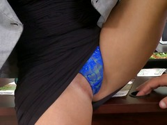 Big-tit blonde boss ma... video