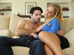 Updatetube - Blonde babe with big t...