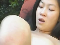 Naughty asian girl mas... video
