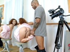 PinkRod Movie:Beautiful flexible ballerina s...