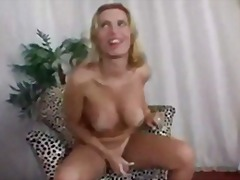 shemale, big, solo, tits, blonde