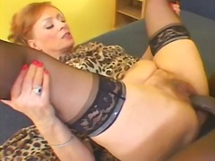 Redhead hooker takes a... video
