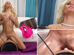 Hotshame Movie:Incredibly gorgeous blondevict...