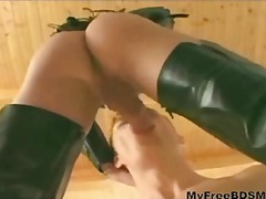 Blondy bdsm bondage sl...