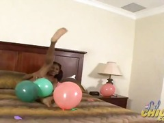 PornHub Movie:Lil chica with baloons