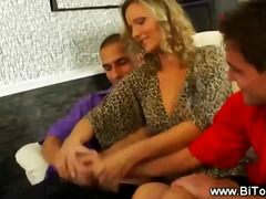 BoyFriendTV Movie:Horny slut gets two guys for h...