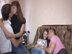 See: Sensuous foursome teen...