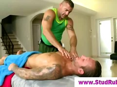 See: Gay masseur checks out...