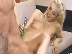 orgasm, girls, blonde, tits, china, young,