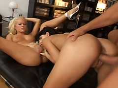 Threesome with sophie ... - Xhamster