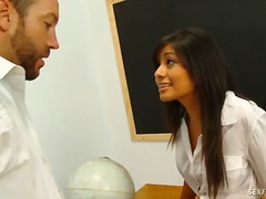 Over Thumbs Movie:Ruby reyes seduces her professor