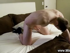 BoyFriendTV Movie:Missionary boy guiltily jerks off