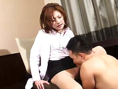 Ladyboy in pantyhose m... video