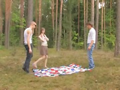 Amateur serbian threes... video