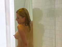 Sexy blonde mom seduce... video