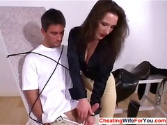 Tough british milf get... video